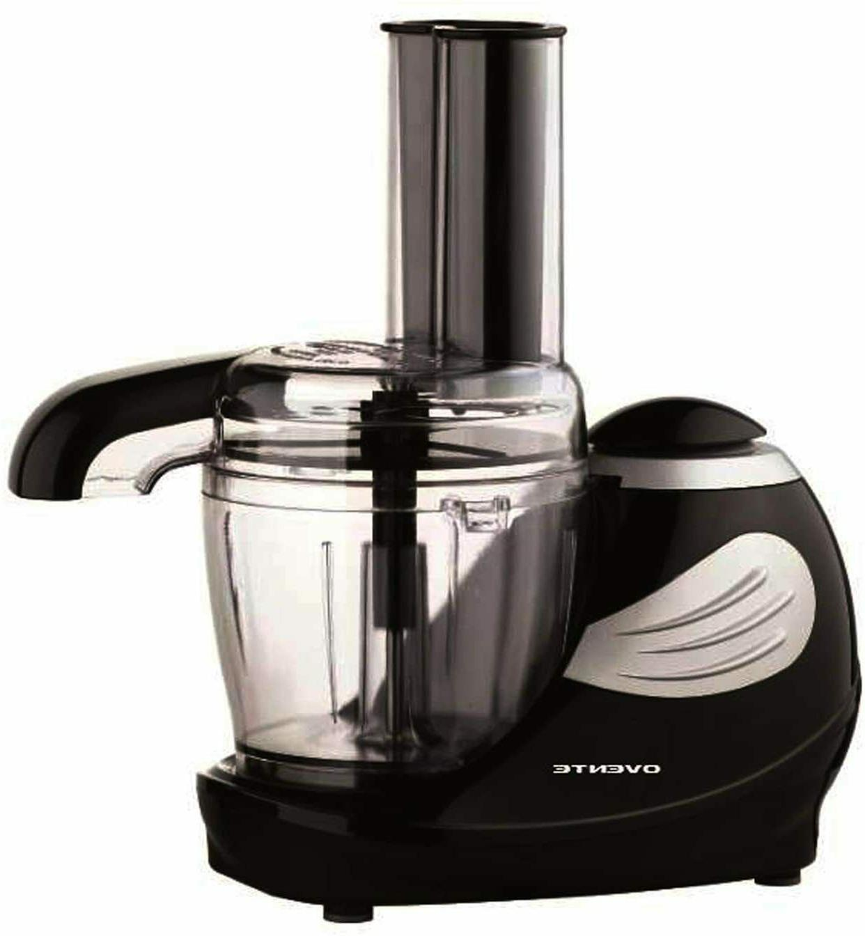 Ovente Electric Mini Food Processor 1.5 Cup with Stainless B